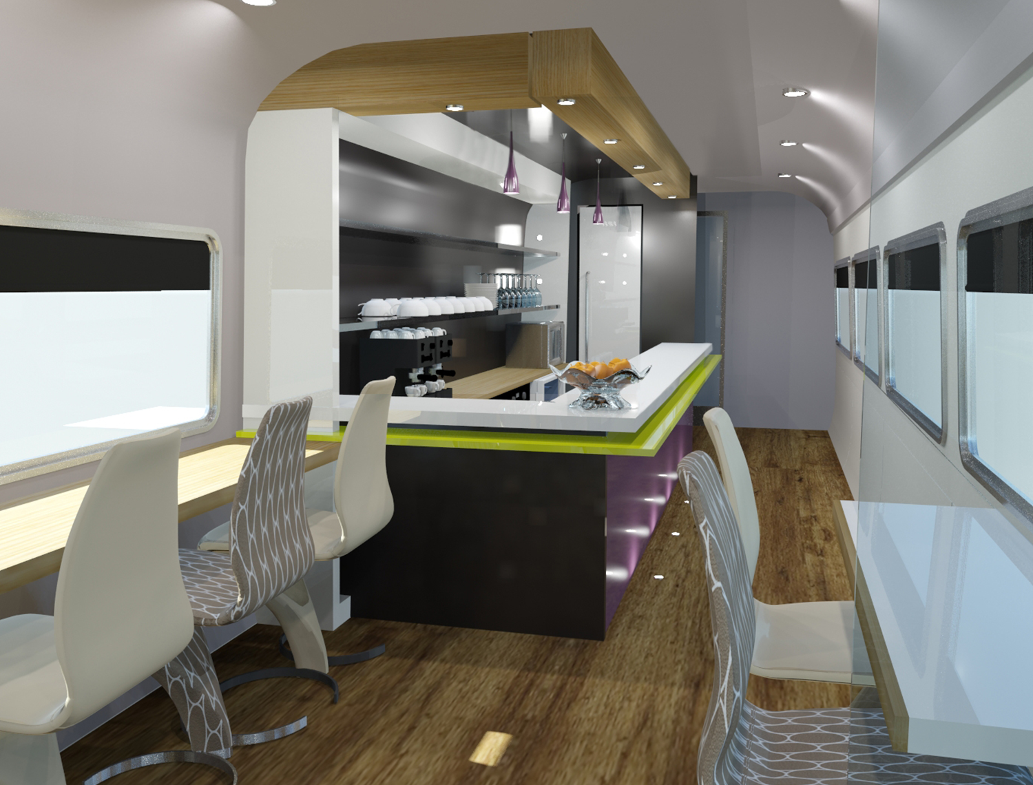 Sleeper Train Concepts Dg8 Design And Engineering
